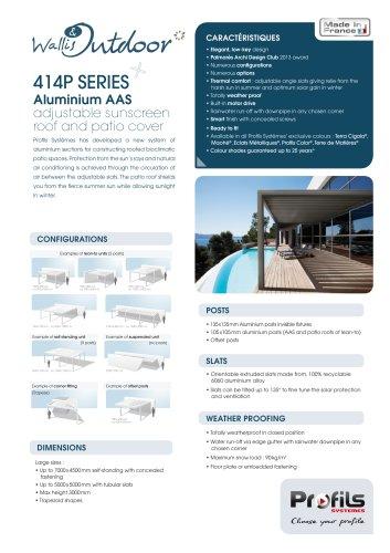 Wallis & Outdoor® Pergolas & AAS roofs