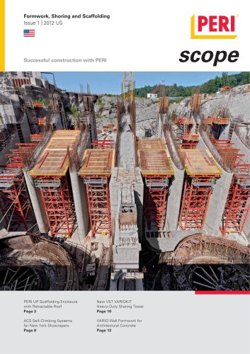 Formwork, Shoring and Scaffolding Issue 1   2012 US