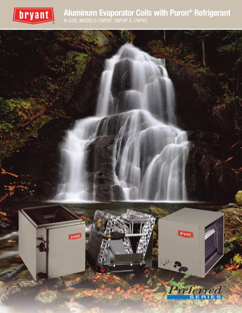Cnpvp Cnphp Cnpvu N Coil Aluminum Evaporator Coils With Puron Refrigerant Consumer 1 4 Pages