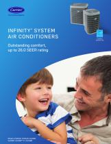 INFINITY® SYSTEM AIR CONDITIONERS