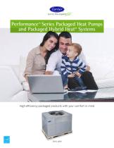 Performance™ Series Packaged Heat Pumps and Packaged Hybrid Heat® Systems