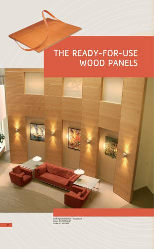 READY-FOR-USE WOOD PRODUCTS