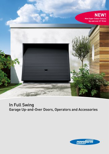 Garage Up-and-Over Doors, Operators and Accessories