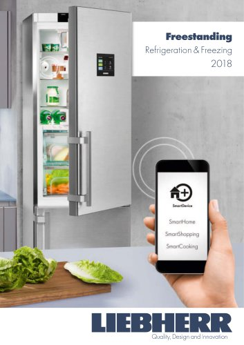 Freestanding Refrigeration & Freezing 2018