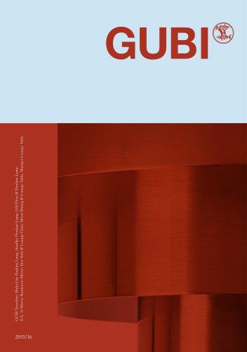 GUBI Novelties 2015/16