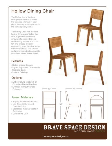 Hollow Dining Chair