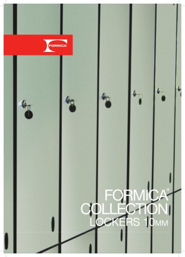 Formica® Collection Lockers