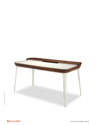 Airia Desk and Media Cabinet Product Sheet