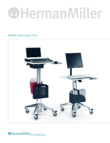 Mobile Technology Carts product sheet