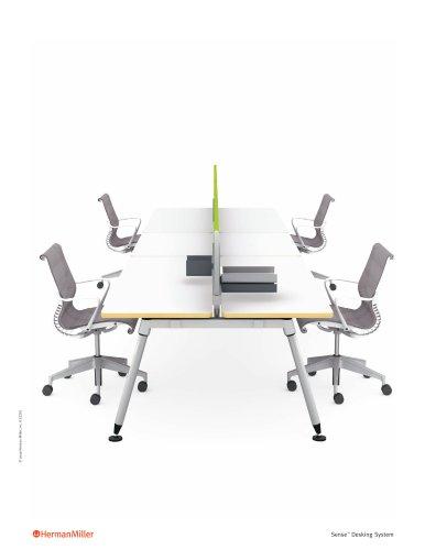 Sense Desking System brochure