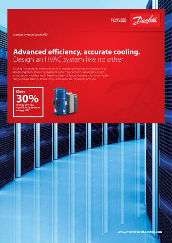 Brochure Datacenter cooling with VZH inverter scrolls - GB