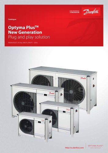 Catalogue - Optyma Plus New Generation - GB - 50 Hz - SI