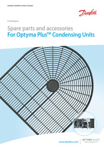 Catalogue - Optyma plus spare parts - GB