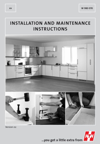 Installation and Maintenance Instructions