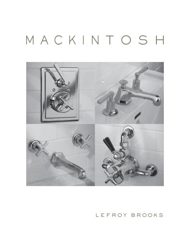 Mackintosh Specification Catalogue