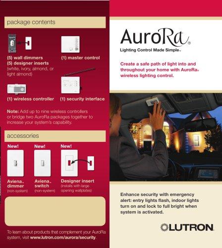 AuroRa security brochure