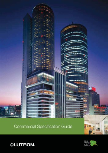 Commercial Specification Guide