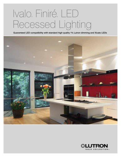 Finiré? LED Recessed Lighting Brochure