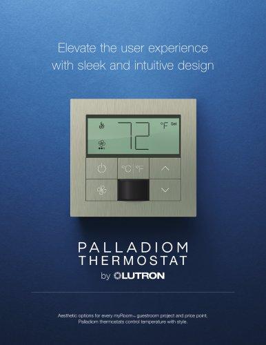Palladiom Thermostat Brochure