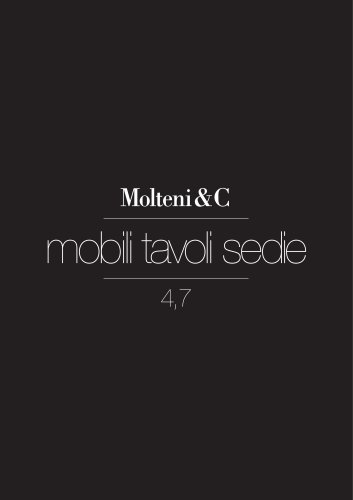 Mobili Tavoli Sedie 4,7 (single units, tables, chairs)