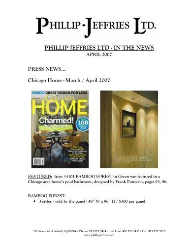 Press Release April
