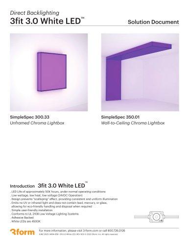3fit 3.0 White LED