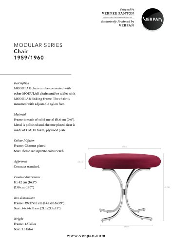 MODULAR SERIES_CHAIR