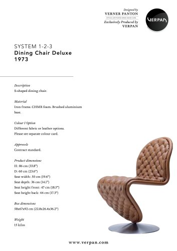 SYSTEM1-2-3-DINING CHAIR DELUXE