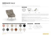 MBRACE ALU Wing chair