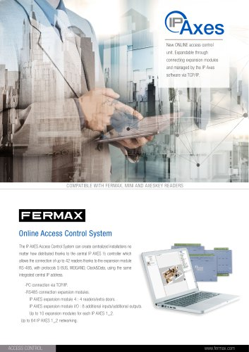 way kits solutions for 12 residences  fermax electrÓnica