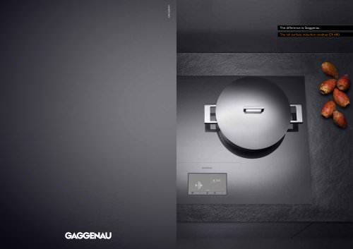 The full surface induction cooktop CX 480