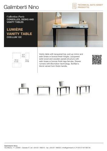 LUMIÈRE VANITY TABLE