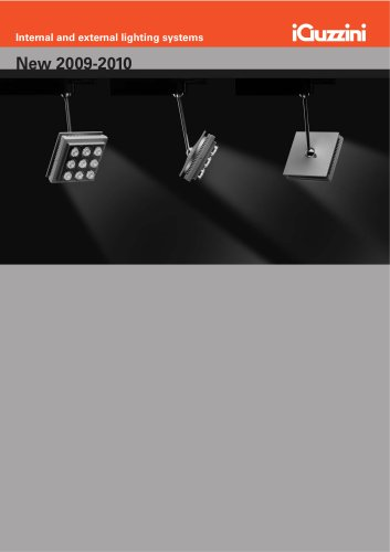 New 2009-2010 - Internal and external lighting systems