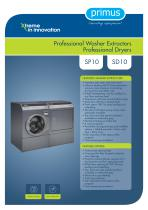 Professional Dryers and Washers SP10 SD10