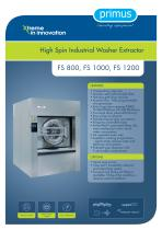 Washer extractors FS1200