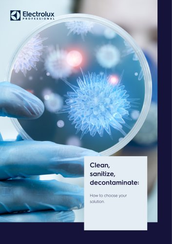 Electrolux Professional Cleaning Solutions