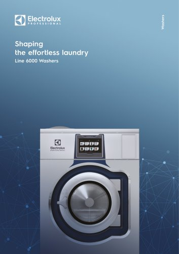 Electrolux Professional Line 6000 Washers
