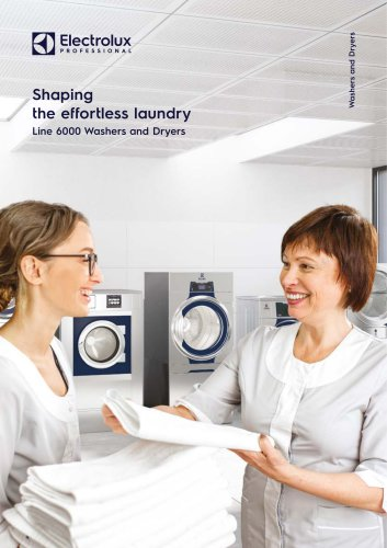 Electrolux Professional Line 6000 Washers and Dryers