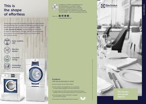 Electrolux Professional Line 6000 Washers and Dryers - Horeca