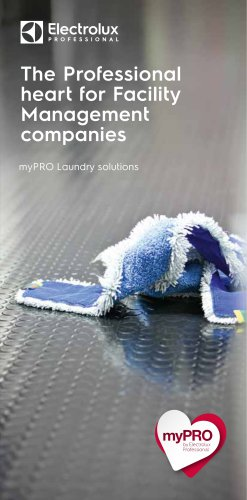 Electrolux Professional myPRO Facility Management