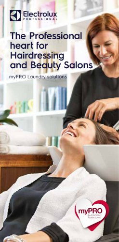 Electrolux Professional myPRO Hairdressing and Beauty Salons