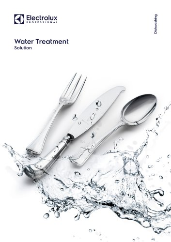Electrolux Professional Water Treatment Solutions