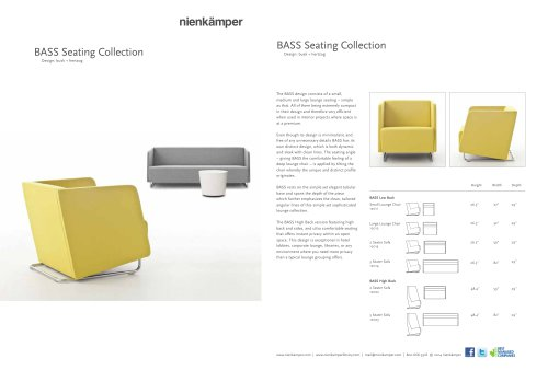BASS Seating Collection