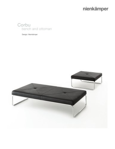 Corbu Ottoman & Bench