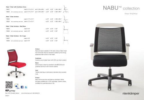 Nabu Chairs Direct Mailer