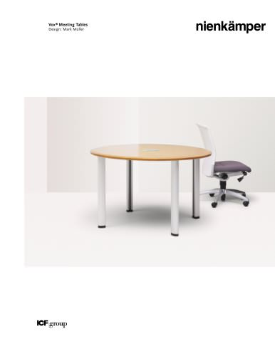 Vox® Meeting Tables