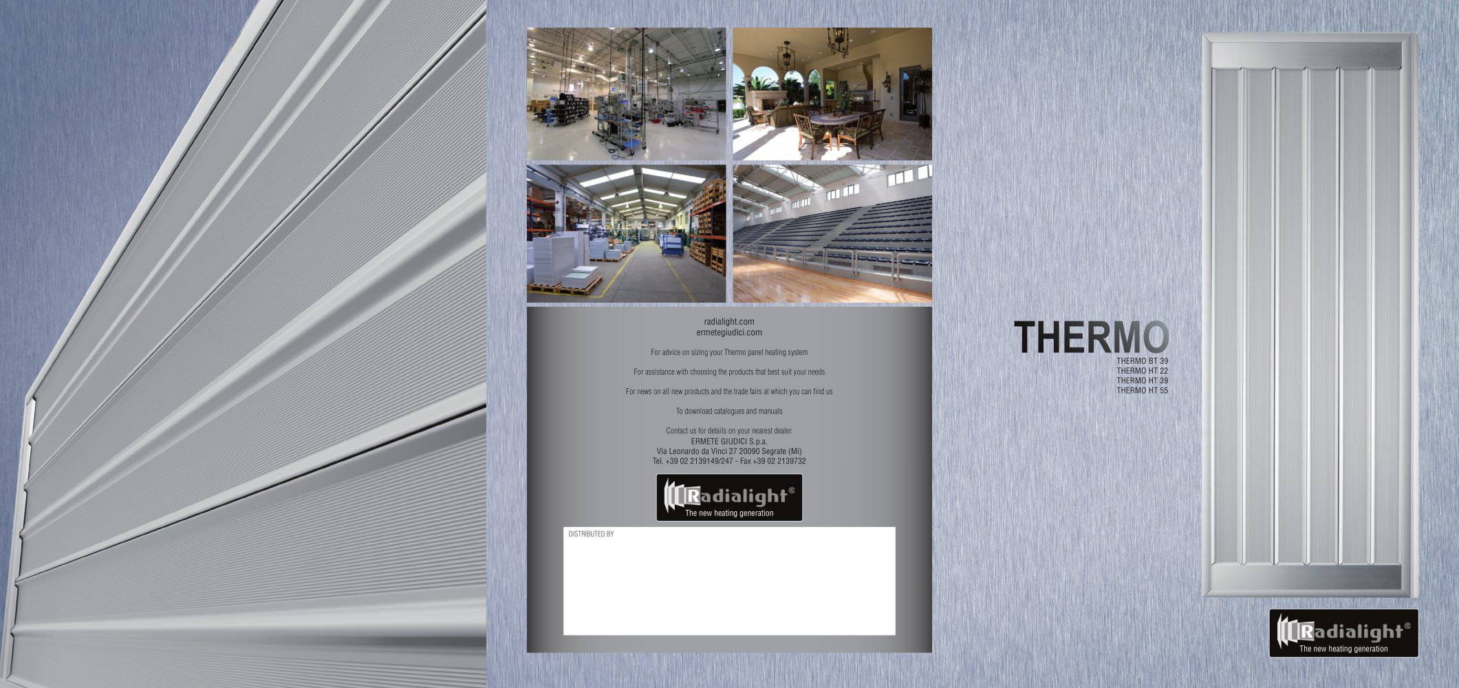 THERMO radiant ceiling heating panel Radialight PDF