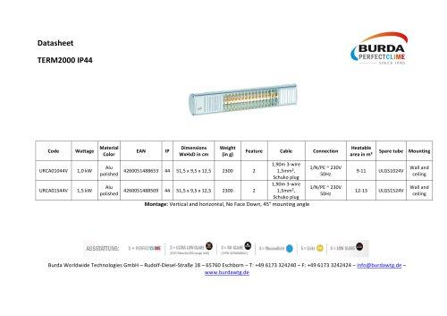 TERM2000 IP44_URCA_44V