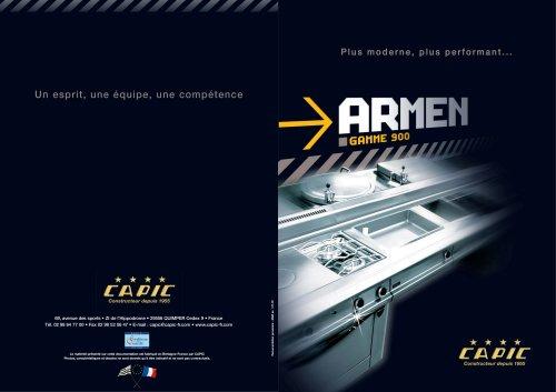 ARMEN, 900 range