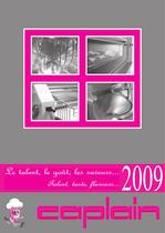 GENERAL CATALOGUE - All the CAPLAIN produced machines - 1